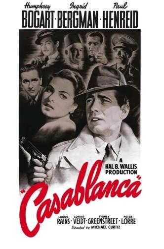 Касабланка / Casablanca (1943): постер