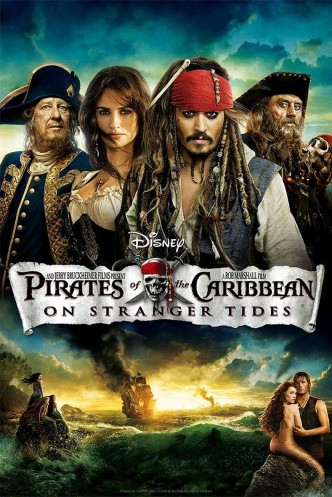 Пираты Карибского моря: На странных берегах / Pirates of the Caribbean: On Stranger Tides (2011): постер