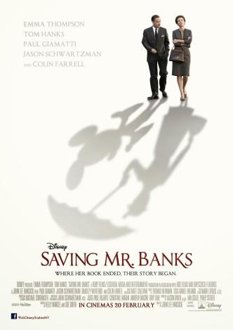 Спасти мистера Бэнкса / Saving Mr. Banks (2013): постер