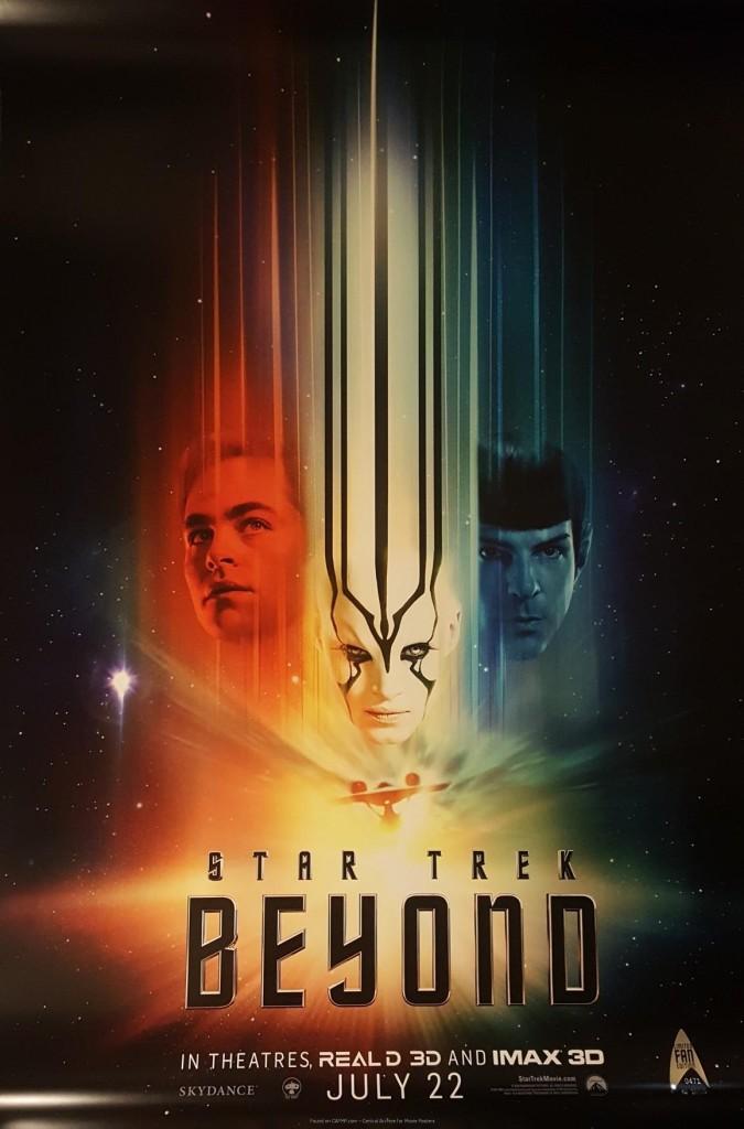 Звёздный путь: Бесконечность / Star Trek Beyond (2016): постер
