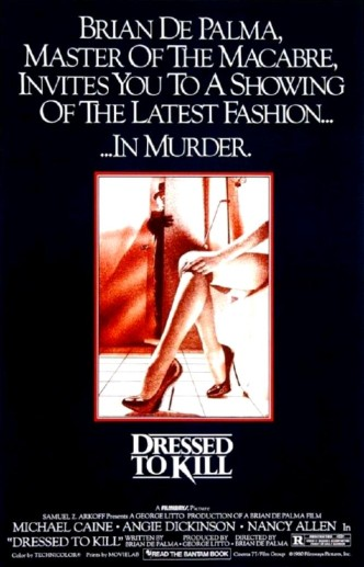 Бритва / Dressed to Kill (1980): постер