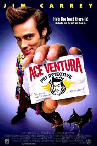 Эйс Вентура: Розыск домашних животных / Ace Ventura: Pet Detective (1994): постер