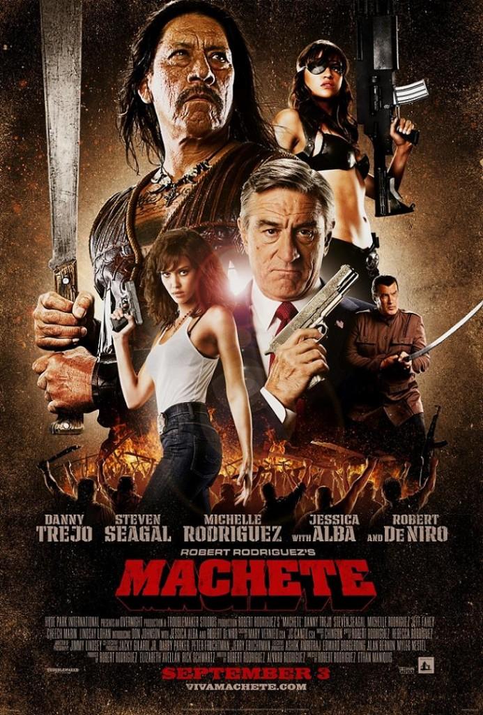 Мачете / Machete (2010): постер