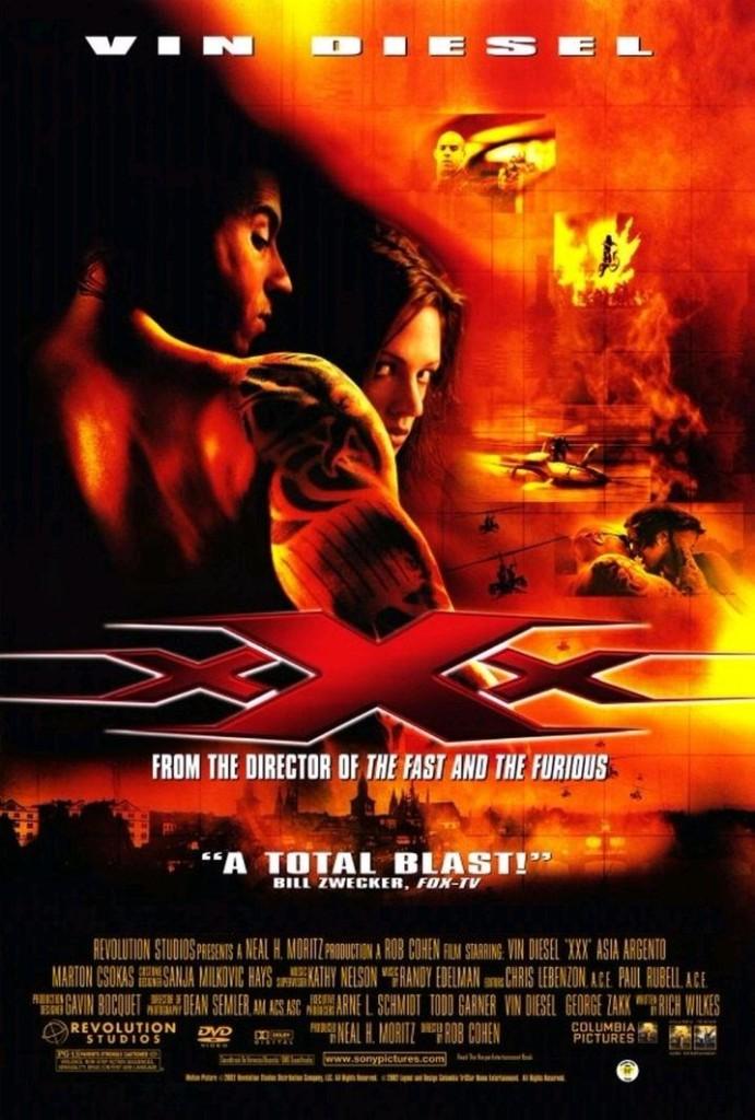 Три Икса / xXx (2002): постер
