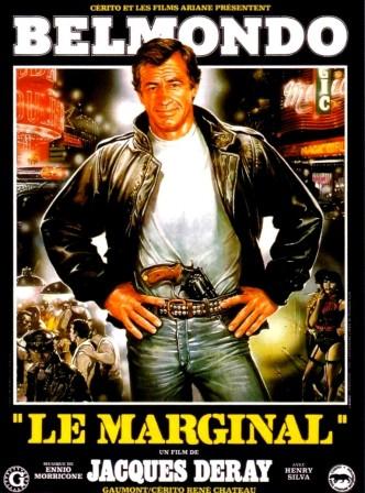 Вне закона / Le marginal (1983): постер