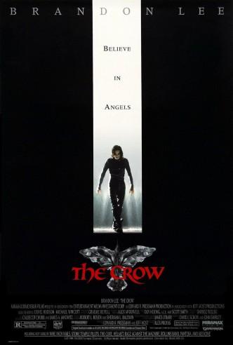 Ворон / The Crow (1994): постер