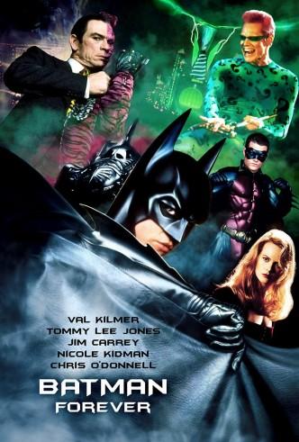 Бэтмен навсегда / Batman Forever (1995): постер