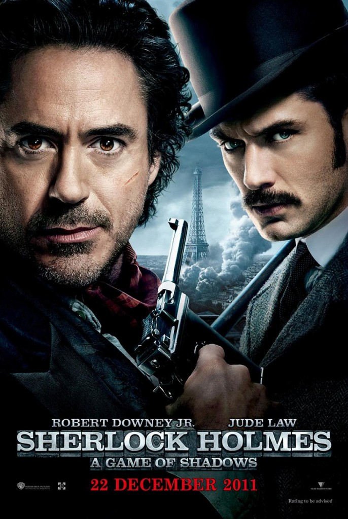 Шерлок Холмс: Игра теней / Sherlock Holmes: A Game of Shadows (2011): постер