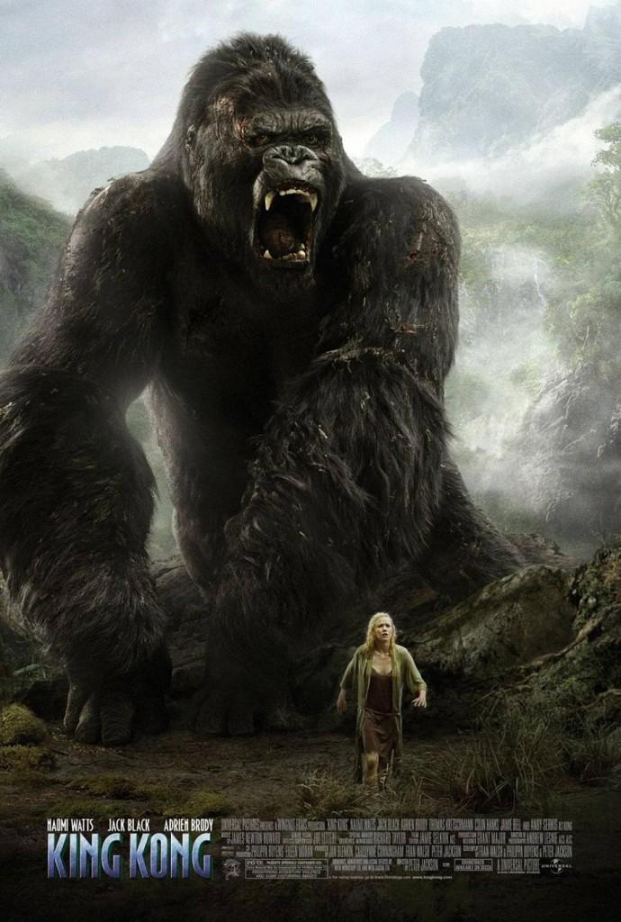 Кинг Конг / King Kong (2005): постер