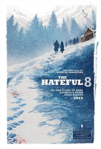 Омерзительная восьмёрка / The Hateful Eight (2015): постер