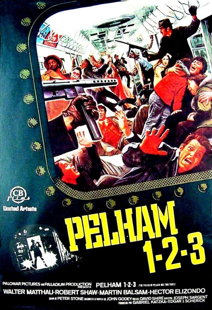 Захват поезда Пелэм 123 / The Taking of Pelham One Two Three (1974): постер
