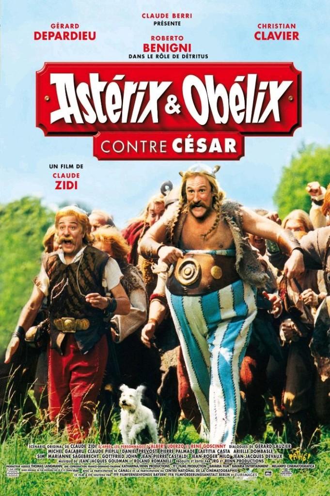 Астерикс и Обеликс против Цезаря / Astérix & Obélix contre César / Asterix & Obelix gegen Caesar / Asterix & Obelix contro Cesare (1999): постер
