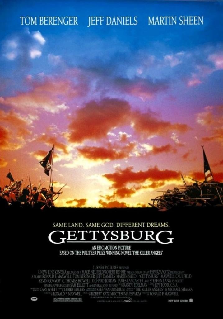 Геттисберг / Gettysburg (1993): постер