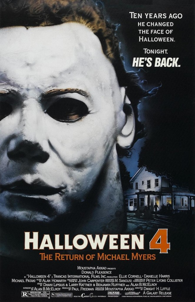 Хэллоуин 4: Возвращение Майкла Майерса / Halloween 4: The Return of Michael Myers (1988): постер
