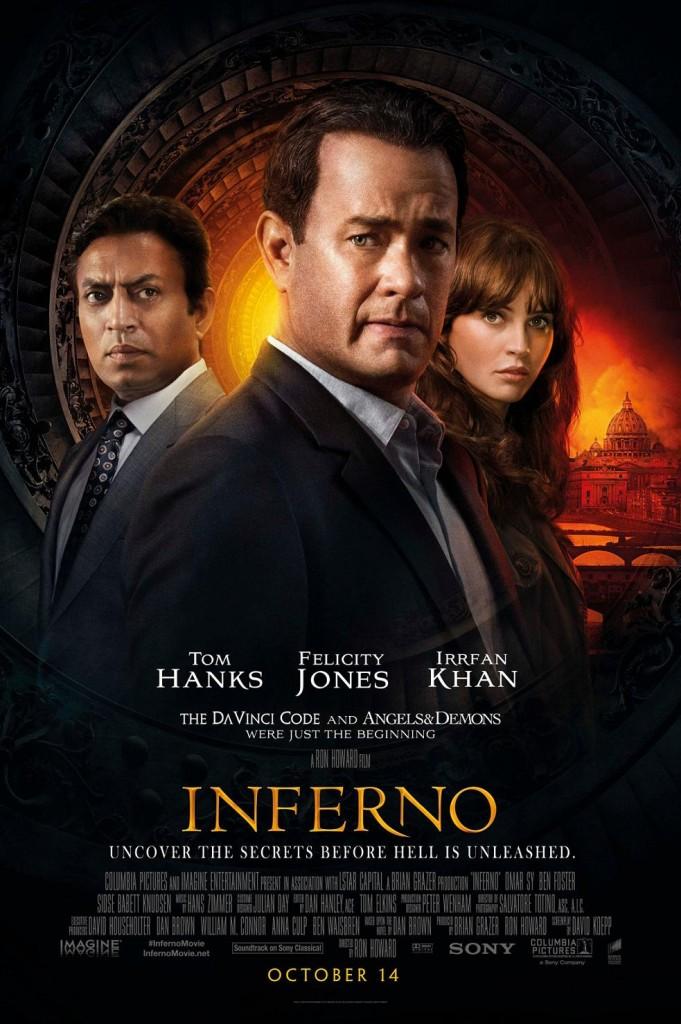 Инферно / Inferno (2016): постер