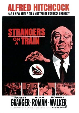 Незнакомцы в поезде / Strangers on a Train (1951): постер