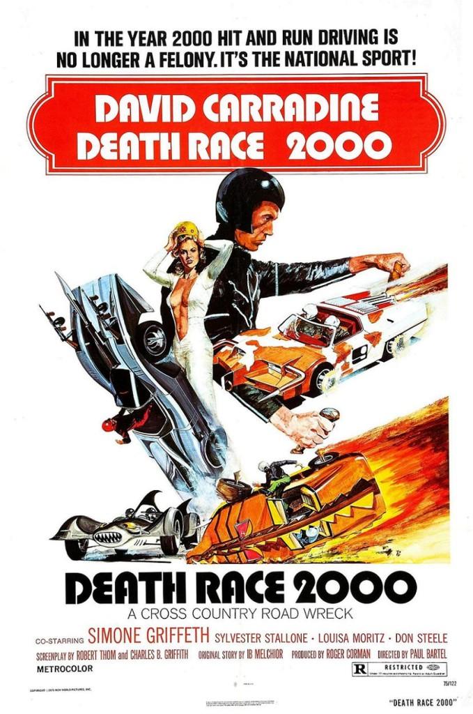Смертельные гонки 2000 / Death Race 2000 (1975): постер