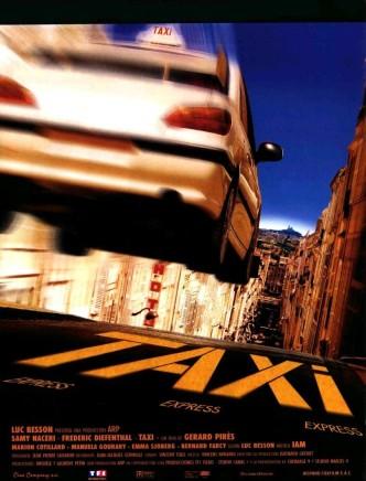 Такси / Taxi (1998): постер