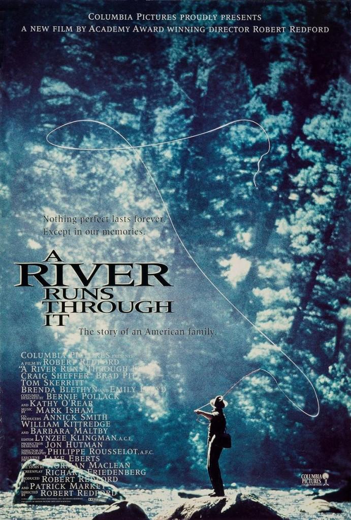 Там, где течёт река / A River Runs Through It (1992): постер