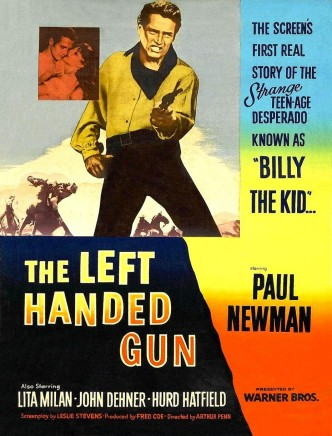 Пистолет в левой руке / The Left Handed Gun (1958): постер