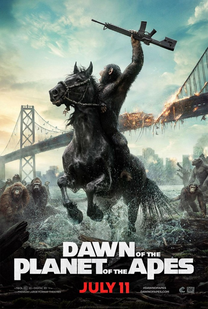 Планета обезьян: Революция / Dawn of the Planet of the Apes (2014): постер
