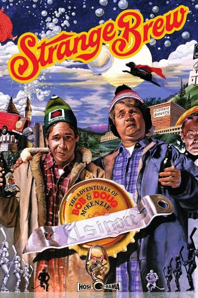 Приключения Боба и Дага МакКензи: Странное варево / The Adventures of Bob & Doug McKenzie: Strange Brew (1983): постер