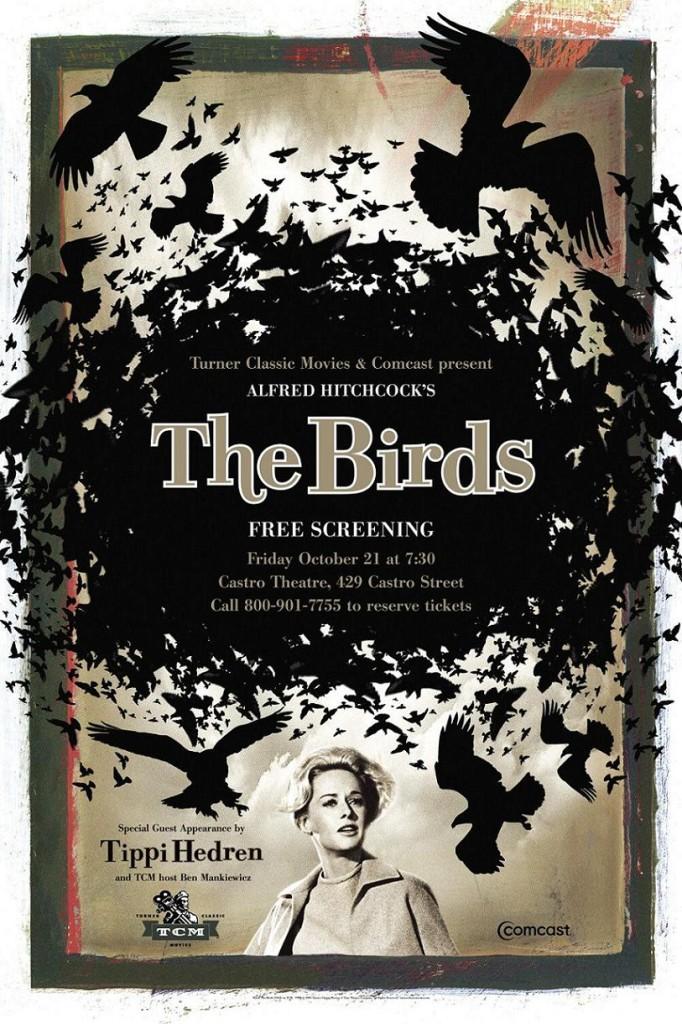 Птицы / The Birds (1963): постер