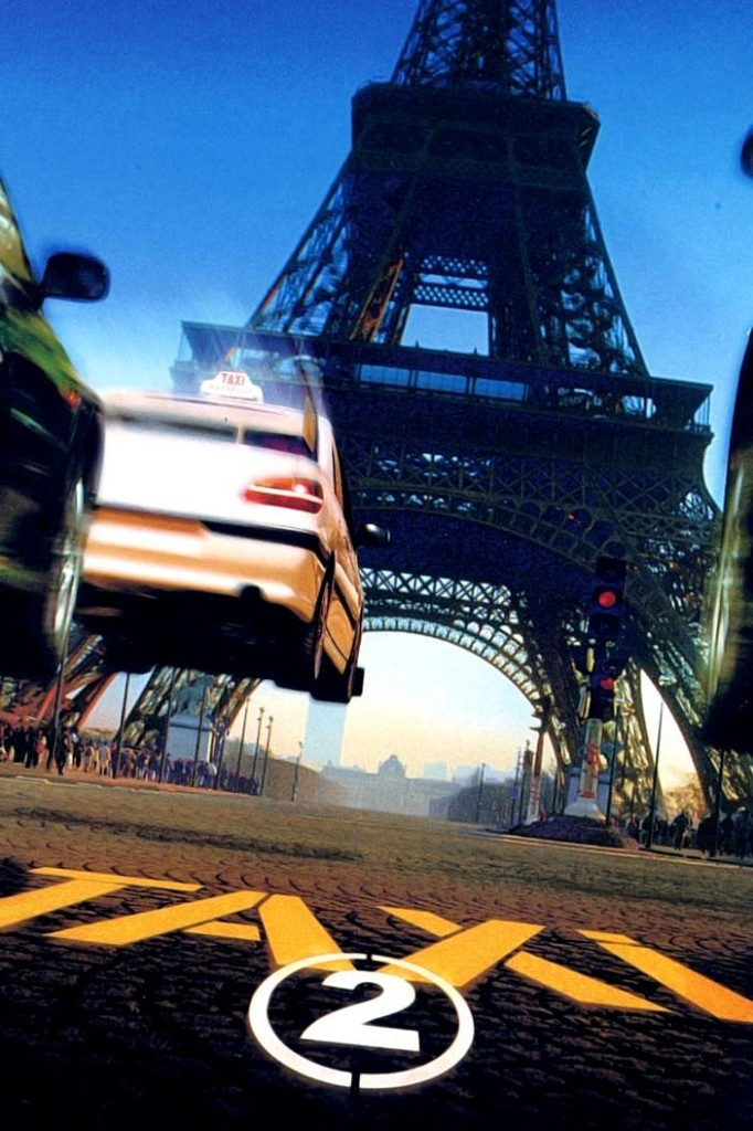 Такси 2 / Taxi 2 (2000): постер