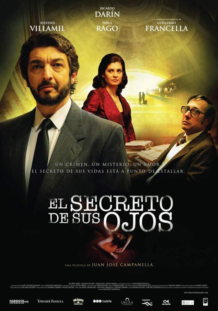 Тайна в его глазах / El secreto de sus ojos (2009): постер