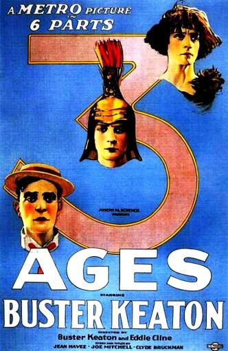 Три эпохи / Three Ages (1923): постер