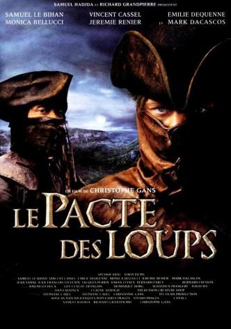 Братство волка / Le pacte des loups (2001): постер