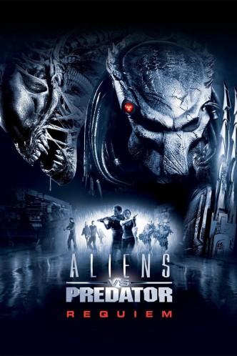 Чужие против Хищника: Реквием / AVPR: Aliens vs Predator (2007): постер