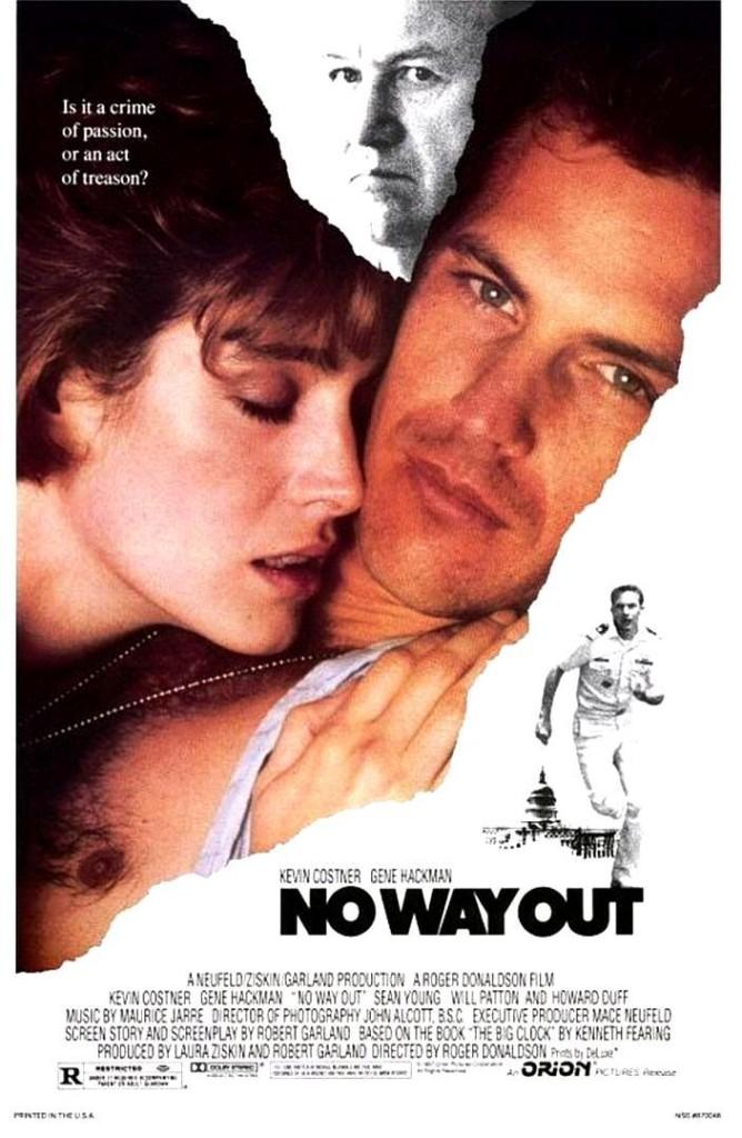 Нет выхода / No Way Out (1987): постер