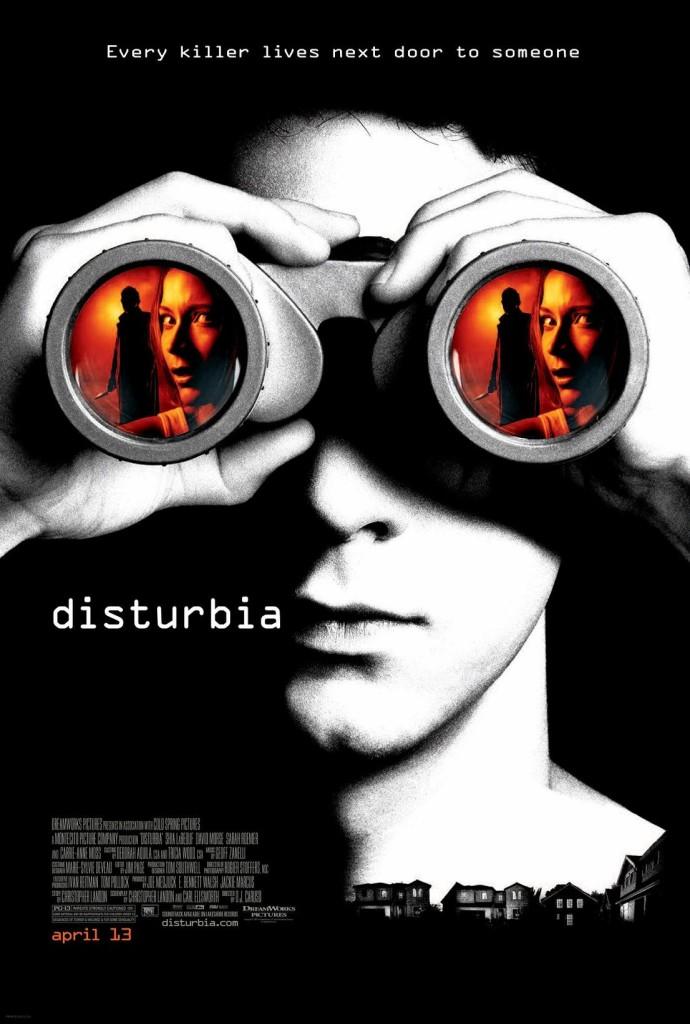 Паранойя / Disturbia (2007): постер