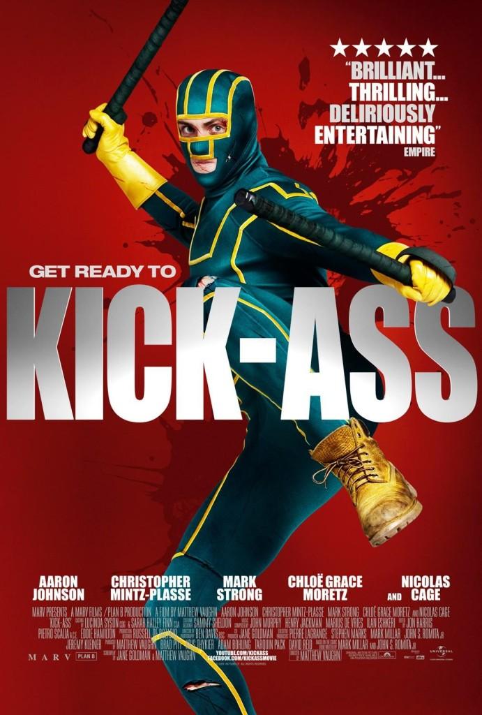 Пипец / Kick-Ass (2010): постер
