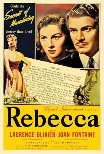 Ребекка / Rebecca (1940): постер