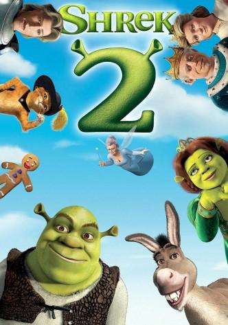 Шрек 2 / Shrek 2 (2004): постер