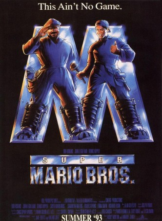 Супербратья Марио / Super Mario Bros. (1993): постер