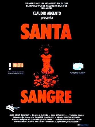 Святая кровь / Santa sangre (1989): постер