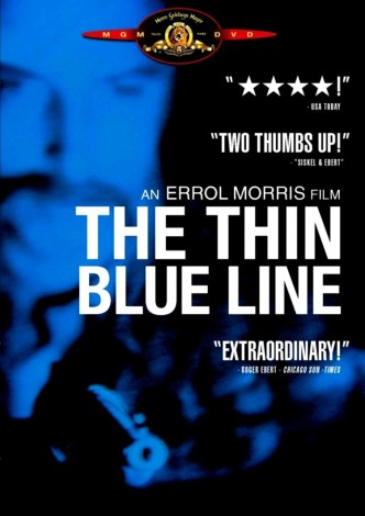 Тонкая голубая линия / The Thin Blue Line (1988): постер
