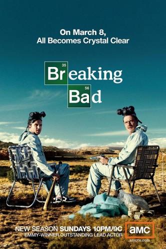 Во все тяжкие / Breaking Bad (2008-2013) (телесериал): постер