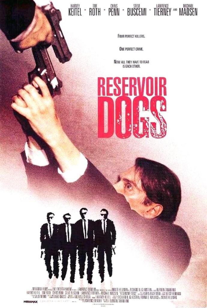 Бешеные псы / Reservoir Dogs (1992): постер