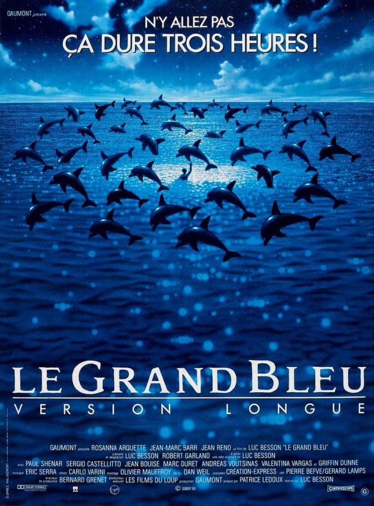 Голубая бездна / Le grand bleu (1988): постер
