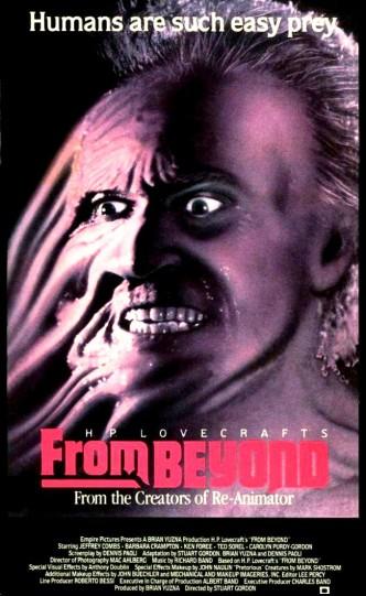 Извне / From Beyond (1986): постер