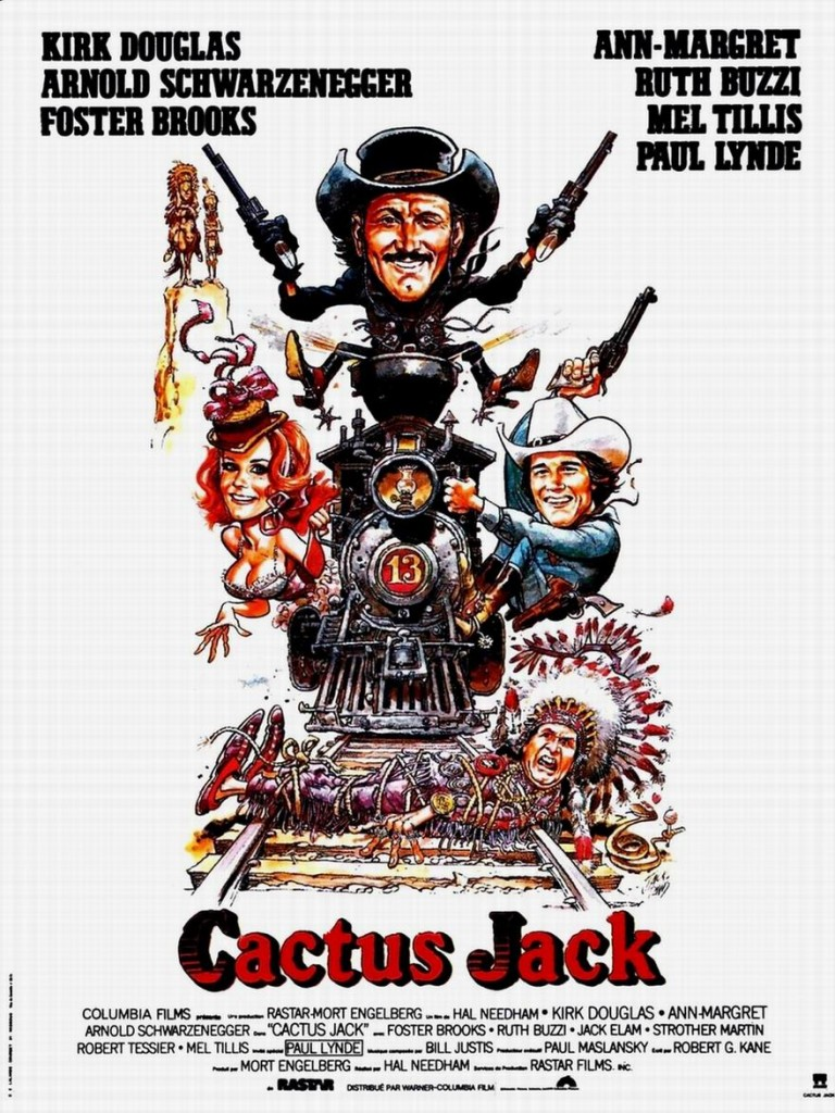 Кактус Джек / The Villain (1979): постер