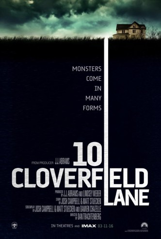 Кловерфилд, 10 / 10 Cloverfield Lane (2016): постер