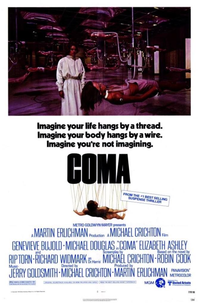 Кома / Coma (1978): постер