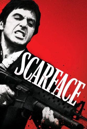 Лицо со шрамом / Scarface (1983): постер
