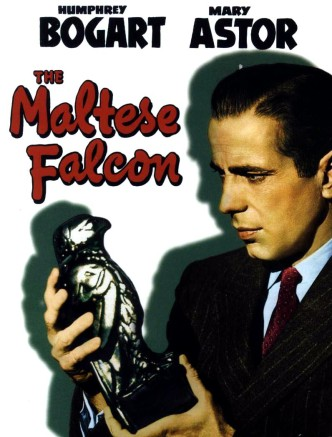 Мальтийский сокол / The Maltese Falcon (1941): постер