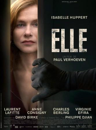 Она / Elle (2016): постер